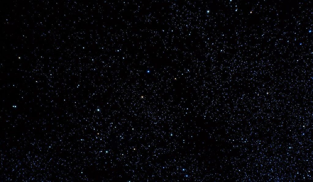 Detail Of Glow In The Dark Stars
