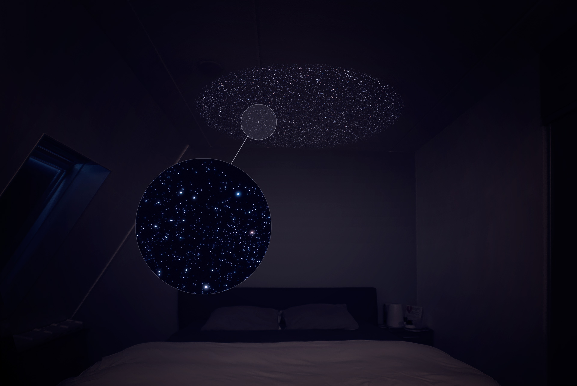 round star ceiling in bedroom : lighting star - azcodes.com