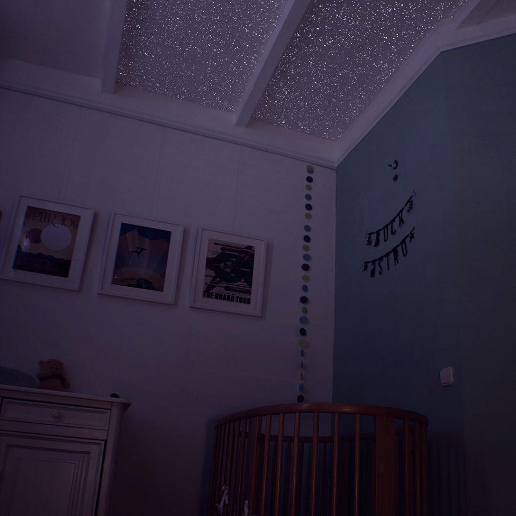 Star Ceiling In Nursery